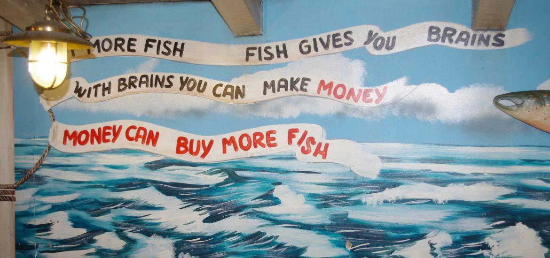 Fische bringen Reichtum