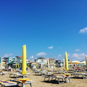 Am Strand in Caorle
